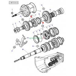 Synchronizator kpl A-B Massey Ferguson 3385887M93
