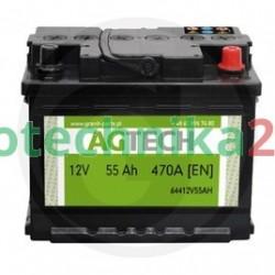 Akumulator 12V 55AH 470A