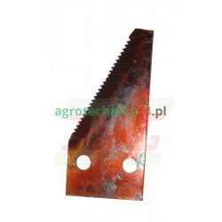 Nożyk kosy końcowy PRAWY Dronningborg D44104000