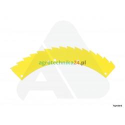 Piła lewa żółta sieczkarni Kemper 78.231