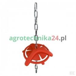 Gryzak dla świń z łańcuchem 75 cm