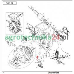 Gaspardo Tarcza wysiewu 20-otworowa 4.5mm G10121400 SP-MT