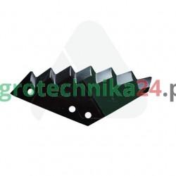 Nóż paszowozu Kuhn 385x160x8 MWS