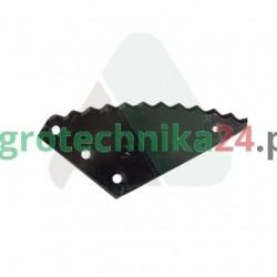 Nóż paszowozu Strautmann 435 x 200 x 5 MWS
