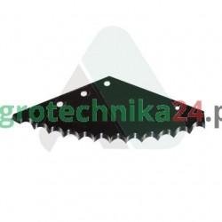 Nóż paszowozu Strautmann 575 x 218 x 5 MWS
