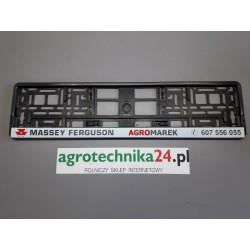 Firmowa podkładka pod tablicę rejestracyjną AGROMAREK