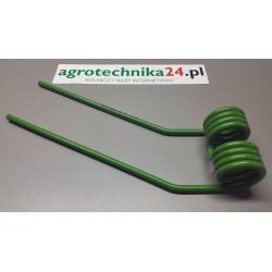 Palec przetrząsaczy do Fella 460181 prawy zielony