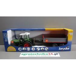 Zabawka traktor Fendt 209S z przyczepą