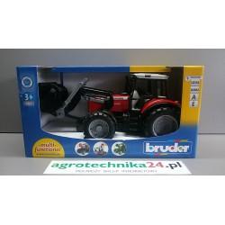 Zabawka traktor Massey Ferguson 7480 z ładowaczem Top-Profi