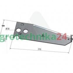 Nóż przyczepy samozbierającej Krone 345144.3