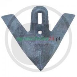 Gęsiostopka kuta matrycowo 420mm Köckerling 504018 Granit