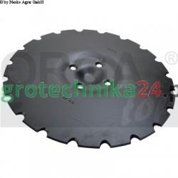 Talerz brony talerzowej delikatnie uzębiony 430 x 5 mm Väderstad 444687 Orgatop