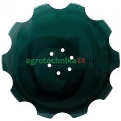 Talerz brony talerzowej uzębiony 510 x 5 mm Vogel & Noot R2320401 Granit