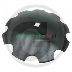 Talerz brony talerzowej uzębiony 660 x 97 x 41 mm Granit