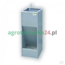 Autokarmnik paszowy tucznikowy na sucho, jednostanowiskowy metalowy BI