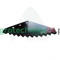 Nóż paszowozu Metal-Fach 557x215x6, utwardzony MWS