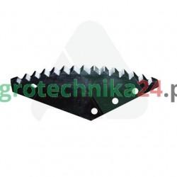 Nóż paszowozu Metaltech 545x200x6, utwardzony MWS