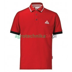 Koszulka polo męska czerwona Massey Ferguson