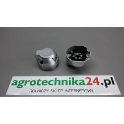 Gniazdo aluminiowe 7-biegunowe 69343910 AGTECH