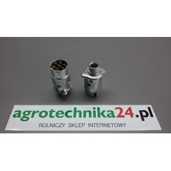 Wtyczka aluminiowa 7-biegunowa 69343895 AGTECH