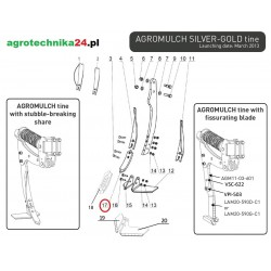 Dłuto Agrisem AGM11-03-623