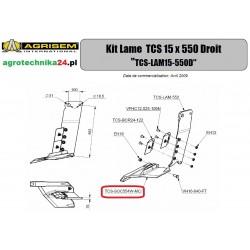 Redlica prawa Agrisem TCS-SOC554W-MC2