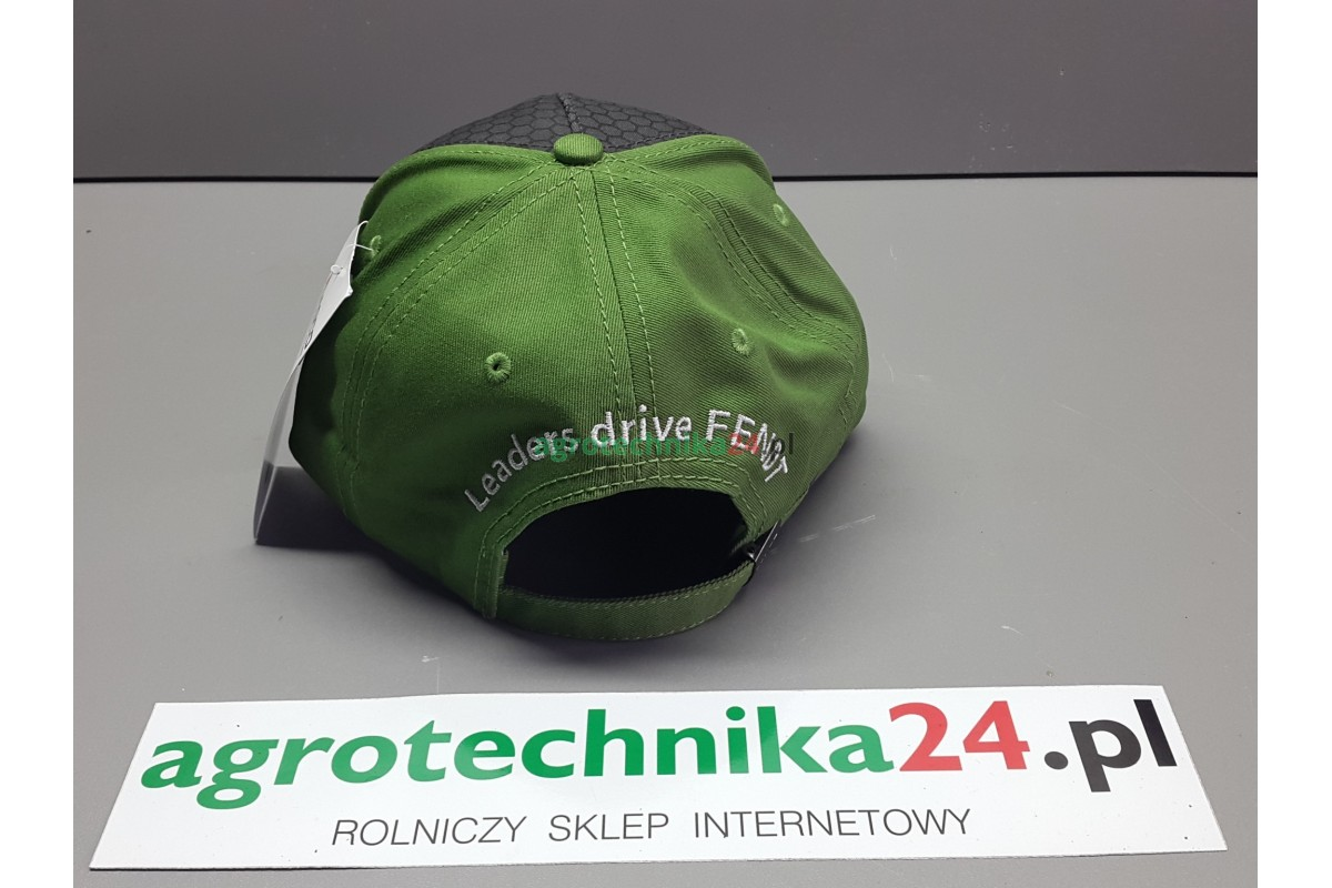 Czapka szaro zielona Fendt agrotechnika24.pl