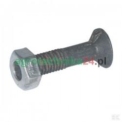 Śruba płużna z nakrętką M16x40 16401N